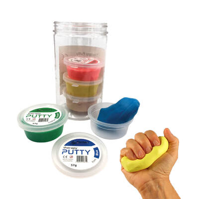 Therapy Putty Assorted Pack 5