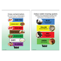 Gompels Cross Contamination/Colour Coding Sign A5 Wipe Clean