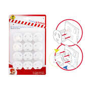 Plug Socket Safety Covers 12 Pack