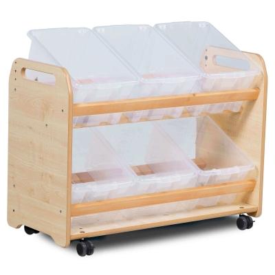 Tilt Storage Unit - Type: Clear Tubs