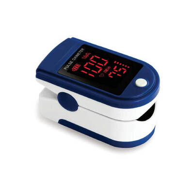 Finger Pulse Oximeter With Display