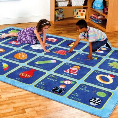 Alphabet Carpet 3x2m