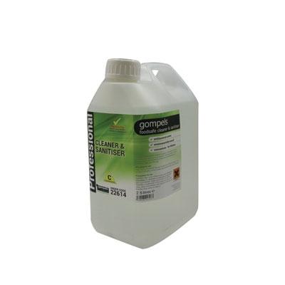 Gompels Concentrated Foodsafe Cleaner Sanitiser 2.5l