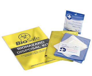 Biohazard Single Use Basic Refill Kit