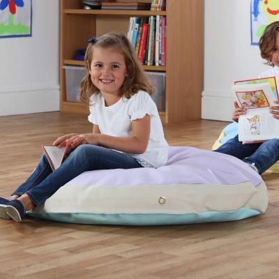 Giant Floor Cushion Pastel 3 Pack