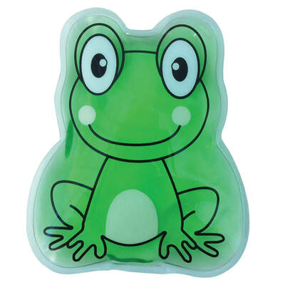 Reusable Hot and Cold Gel Pack Frog