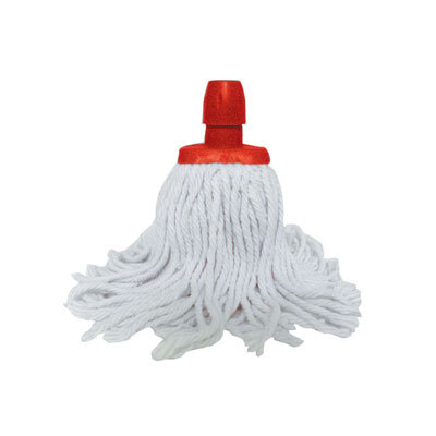 Soclean Cotton Twine Mop Head - Colour: Red