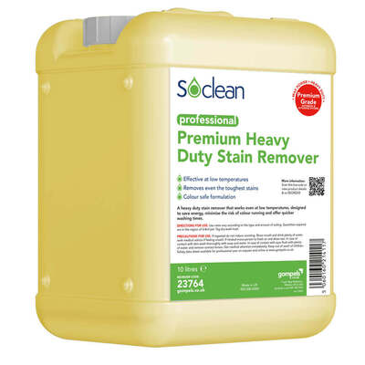 Soclean Heavy Duty Stain Remover 10 Litre