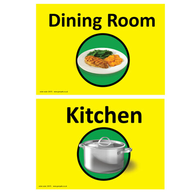 Dementia Sign Kitchen/Dining Room