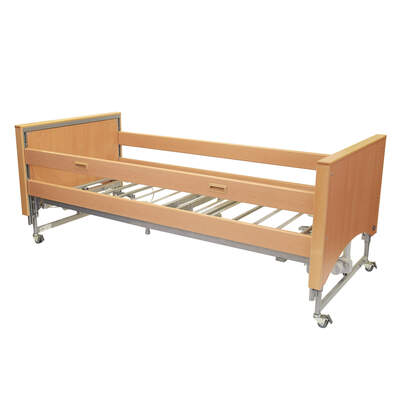 Medley Ergo Profiling Bed With Side Rails and Select End Sleeves