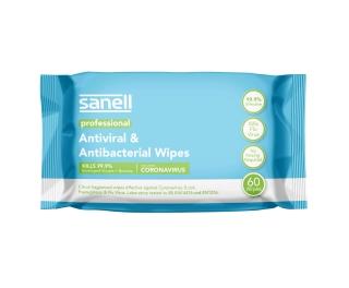Gompels Antibacterial Surface Wipe 60 Pack