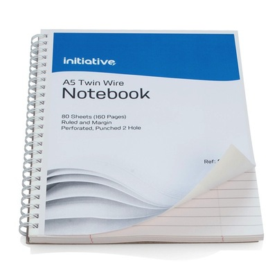 A5 Spiral Notebook 80 Sheet