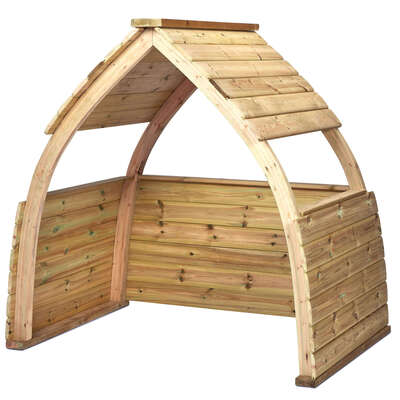 Wooden Outdoor Play Shelter