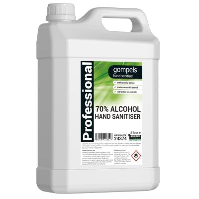 Gompels Alcohol Hand Rub 2x5 Ltr