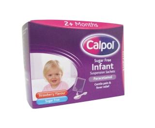 Calpol Infant Sachets 5ml x 12
