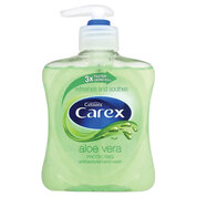 Carex Hand Wash Aloe Vera 250ml 6 Pack