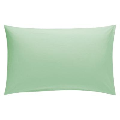 Pillow Case Pair 50cm x 75cm - Colour: Duck Egg Green