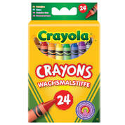 Crayola Crayons Assorted Pack 24