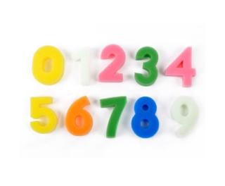 Foam Number Shapes x 10