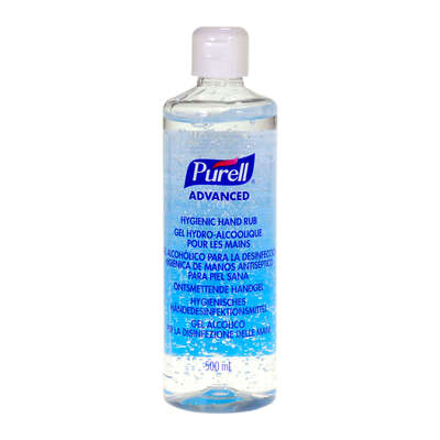 Purell Advanced Hygienic Hand Rub Pump Btl 500ml