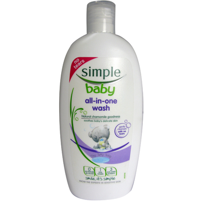 Simple Baby All in One Wash 300ml