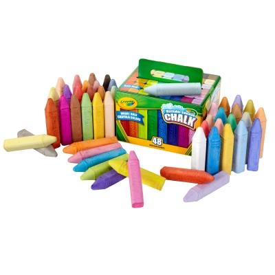 Crayola Playground Chalk Washable Pack 48