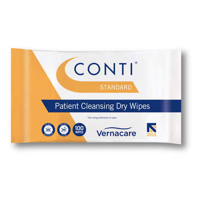 Conti Standard Dry Wipes 100 Pack
