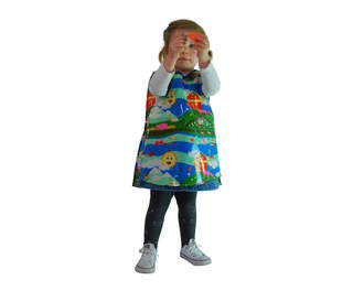 Childs Plastic Wipe Clean Tabard