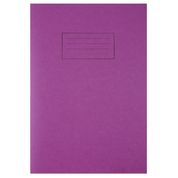 Exercise Book A4 80 Page Purple 40 Pack
