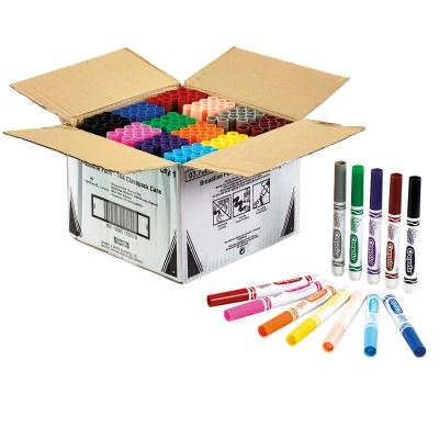 Crayola Broad Line Markers Assorted Classpack 144