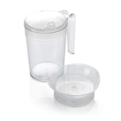 Polycarbonate Mug 10oz + 2 Lids