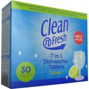 7 in 1 Dishwasher Tablets Lemon 30x8