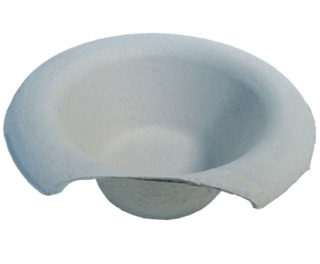 Pulp Disposable Commode Pan 1.7 Ltr 200