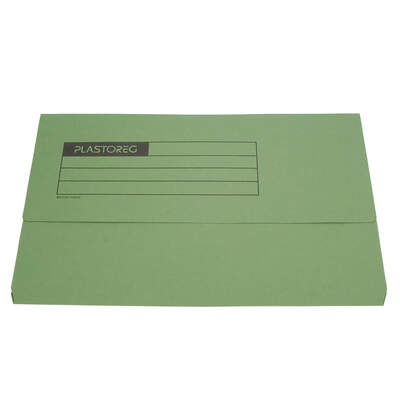 Document Wallet A4 - Colour: Green