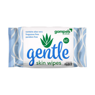 Gompels Gentle Wet Wipes 60pk