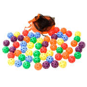 Soft Ball 7cm Assorted 60 Pack