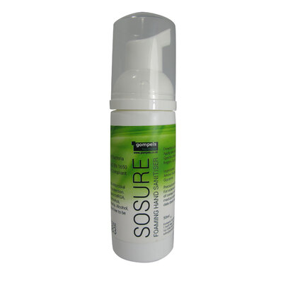 Gompels Sosure Foaming Hand Mousse 50ml