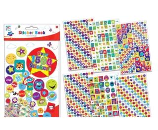 Reward Stickers Assorted 1500 Pack