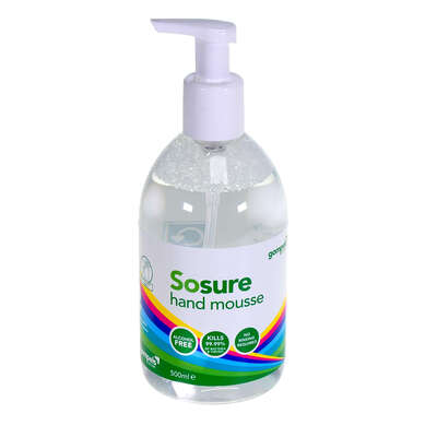 Sosure Foaming Hand Mousse 500ml