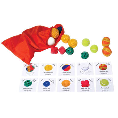 Assorted Tactile Balls 20 Pack