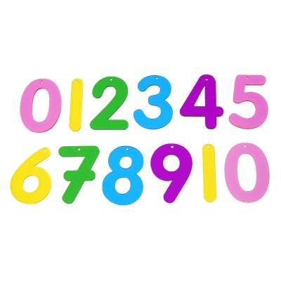 Acrylic Numbers 0-10 12 Pk