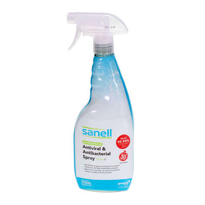 Sanell Antiviral and Antibac Multi Surface Cleaner 750ml 6 Pack
