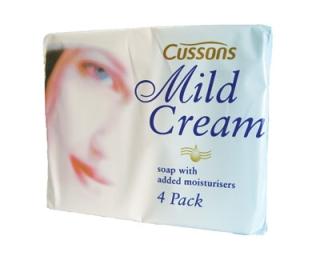 Cussons Mild Cream Soap 4 x 90g