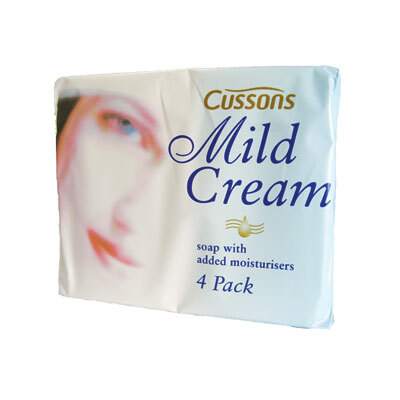 Cussons Mild Cream Soap 4 x 90g