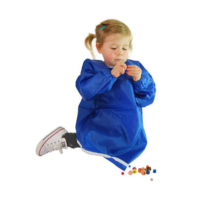 Childrens Smock Blue