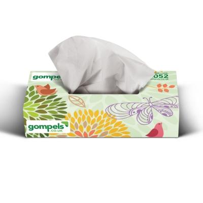 Soclean Botanical Facial Tissues 2ply 36 x 100 Pack