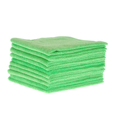 Soclean Microfibre Cloths 10 Pack - Colour: Green
