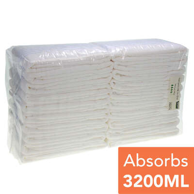 Gompels Adult Nappies Medium Plus 20 Pack