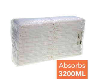 Gompels All-in-One Adult Diaper Medium Plus 20