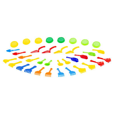 Assorted Sand Hand Tools 36 Pack